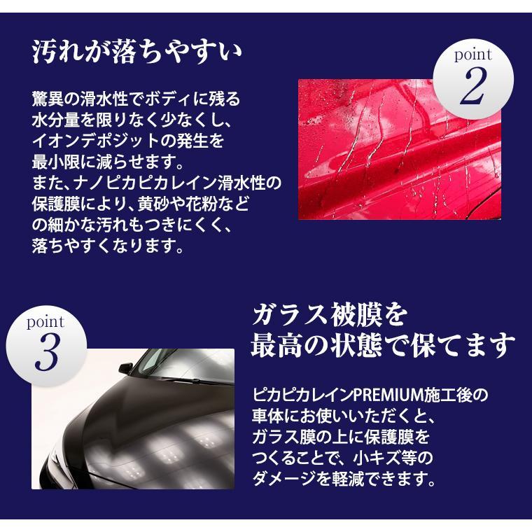 ガラスコーティング 車 ガラスコーティング剤 メンテナンス剤 ナノピカピカレイン 滑水性 スプレーして拭くだけ簡単コーティング! 送料無料 TOP-KMAINTE-250|pika2rain|06