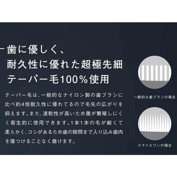 超極細毛 スマイルワン抗菌歯ブラシ3色セット大好評|pikasshu1081|05
