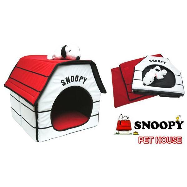 スヌーピー ペットハウス ペットベッド snoopy 室内用犬小屋 PEANUTS ピーナッツ ペットハウス|pinacolada|02