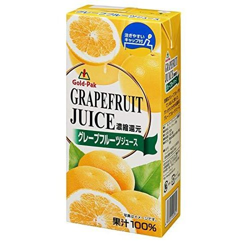 ゴールドパック グレープフルーツジュース 1L×6本|pinepinestore