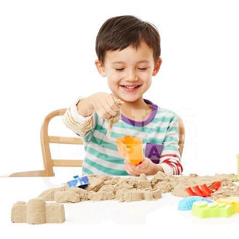 砂遊び 砂 室内 キネティックサンド 2LB ラングスジャパン 3歳 おもちゃ kinetic sand 室内用 子供 キッズ ギフト 誕生日プレゼント ねんど 粘土 男の子 女の子|pinkybabys|03
