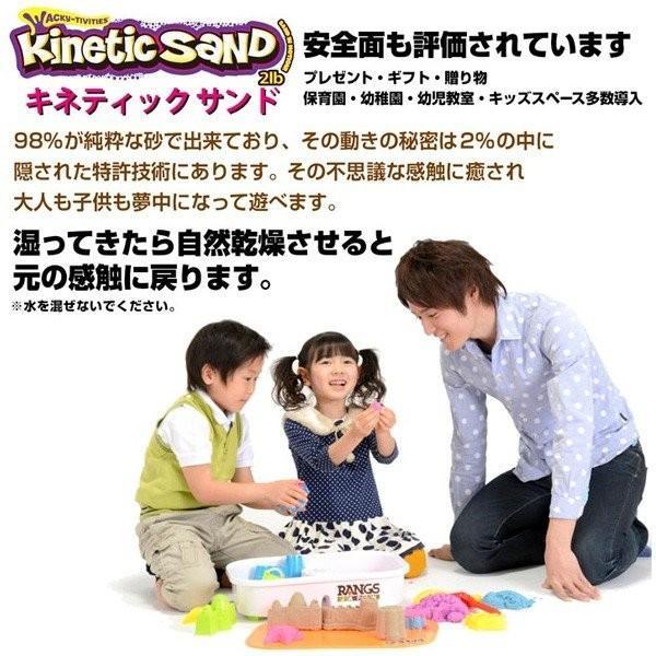 砂遊び 砂 室内 キネティックサンド 2LB ラングスジャパン 3歳 おもちゃ kinetic sand 室内用 子供 キッズ ギフト 誕生日プレゼント ねんど 粘土 男の子 女の子|pinkybabys|05