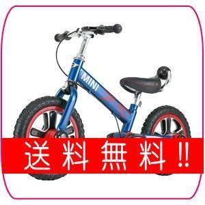 送料無料 エムアンドエム ミニファーストバイク12 ライトニングブルー BL 自転車 二輪車 こども 子供 M&M のりもの 乗り物 外出 遊び*