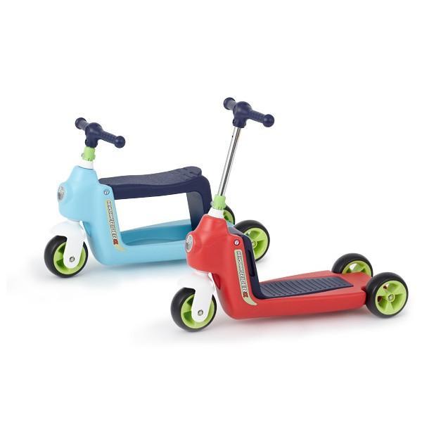 正規品 乗用玩具 2歳 3歳 1歳 足けり へんしんライダーα 乗り物 おもちゃ 室内 子供 キッズ kids baby スクーター 三輪車 バランスバイク 誕生日プレゼント pinkybabys 02