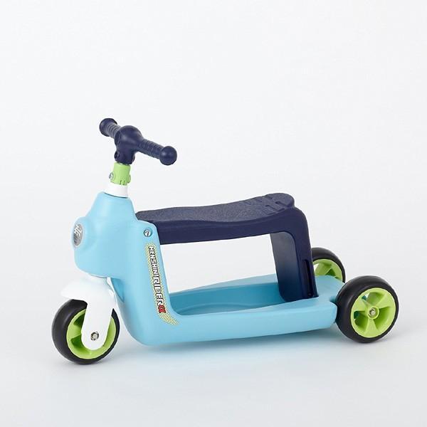 正規品 乗用玩具 2歳 3歳 1歳 足けり へんしんライダーα 乗り物 おもちゃ 室内 子供 キッズ kids baby スクーター 三輪車 バランスバイク 誕生日プレゼント pinkybabys 03