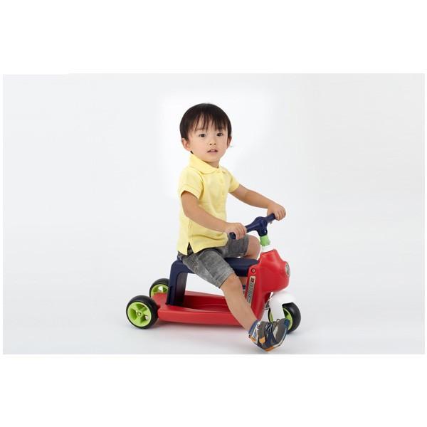 正規品 乗用玩具 2歳 3歳 1歳 足けり へんしんライダーα 乗り物 おもちゃ 室内 子供 キッズ kids baby スクーター 三輪車 バランスバイク 誕生日プレゼント pinkybabys 05