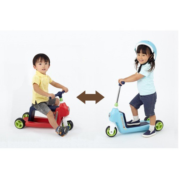 正規品 乗用玩具 2歳 3歳 1歳 足けり へんしんライダーα 乗り物 おもちゃ 室内 子供 キッズ kids baby スクーター 三輪車 バランスバイク 誕生日プレゼント pinkybabys 07