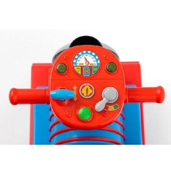 正規品 乗用玩具 足けり 乗用きかんしゃトーマス リアルビークル おもちゃ 子ども 子供 キッズ kids baby 室内 三輪車 遊具 誕生日 プレゼント 野中製作所 pinkybabys 03