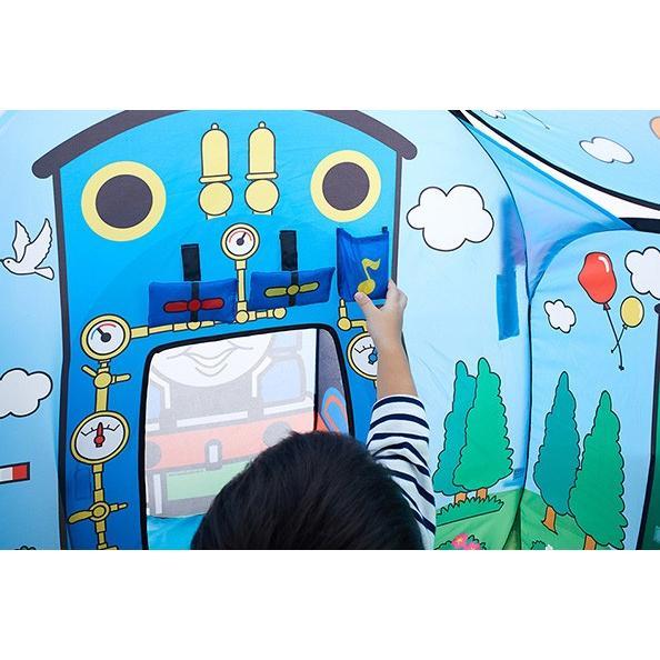 ボールハウス きかんしゃトーマス ソドー島のボールハウス 野中製作所 キッズテント 遊具 子供 誕生日 ギフト プレゼント 一部地域送料無料 連休 帰省 kids baby|pinkybabys|02