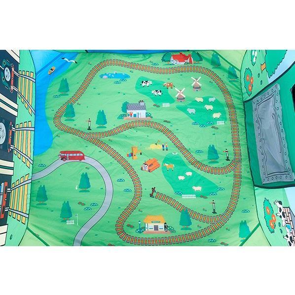 ボールハウス きかんしゃトーマス ソドー島のボールハウス 野中製作所 キッズテント 遊具 子供 誕生日 ギフト プレゼント 一部地域送料無料 連休 帰省 kids baby|pinkybabys|05