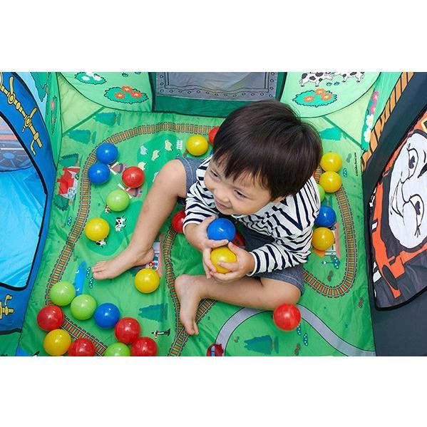 ボールハウス きかんしゃトーマス ソドー島のボールハウス 野中製作所 キッズテント 遊具 子供 誕生日 ギフト プレゼント 一部地域送料無料 連休 帰省 kids baby|pinkybabys|06