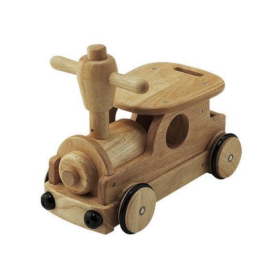 乗用玩具 足けり 木's乗用ポッポ 野中製作所 乗用 おもちゃ 手押し車 乗り物 乗物 木製 室内 子供 誕生日プレゼント ギフト お祝い おすすめ 男の子 女の子 pinkybabys 03