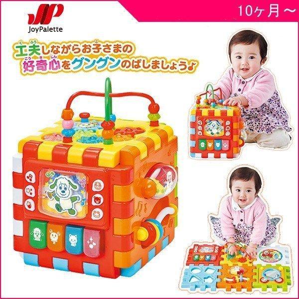 知育玩具 手あそびいっぱい!くみたてへんしん わくわくボックスDX ジョイパレット おもちゃ 10ヶ月から ベビー キッズ 誕生日 ギフト プレゼント クリスマス