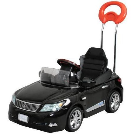 ミズタニ レクサス LS600hL ブラックオパールマイカ LS-H 車 乗用 乗り物 のりもの キッズ 子供 足けり *