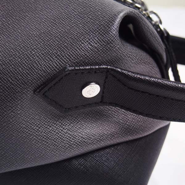 PIOMBO ピオンボ スプリットレザーセカンドバッグ シングルファスナー メンズバッグ  メンズポーチ バッグインバッグ pisd 11