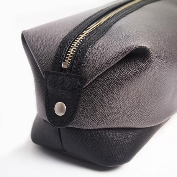PIOMBO ピオンボ スプリットレザーセカンドバッグ シングルファスナー メンズバッグ  メンズポーチ バッグインバッグ pisd 10