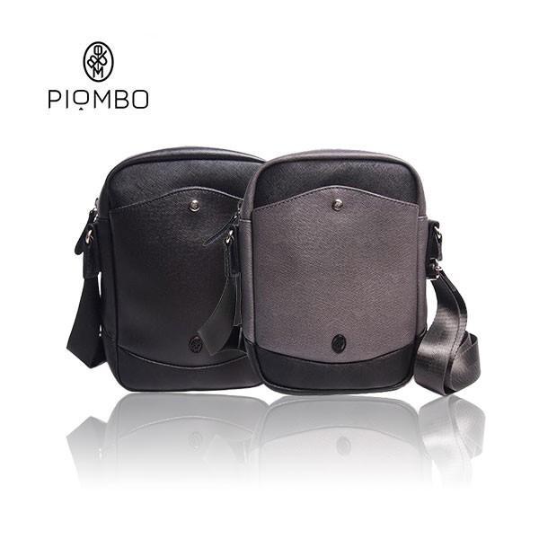 PIOMBO ピオンボ スプリットレザー ミニショルダー メンズバッグ |pisd