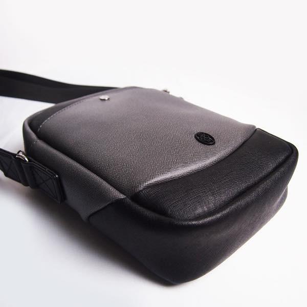 PIOMBO ピオンボ スプリットレザー ミニショルダー メンズバッグ |pisd|07