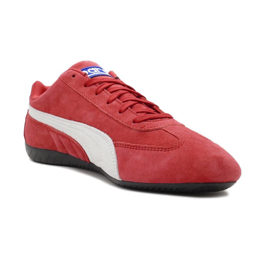 スニーカー プーマ PUMA スピードキャットOGスパルコ リボンレッド/ホワイト 339844-05 メンズ レディース シューズ 靴 20FA|pistacchio|05
