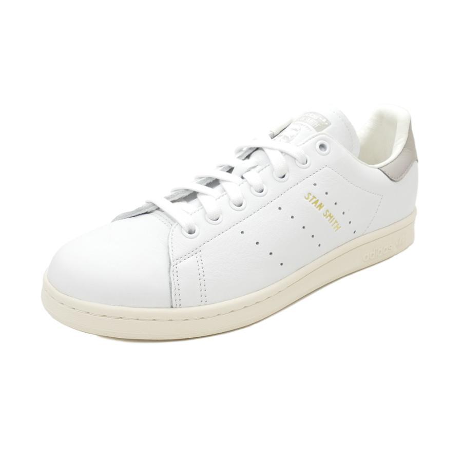 スニーカー アディダス adidas スタンスミス ホワイト/クリアグラナイト グレー S75075 メンズ レディース シューズ 靴|pistacchio