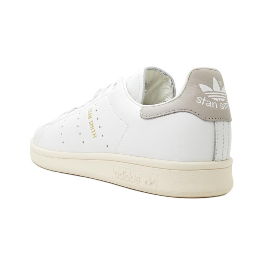 スニーカー アディダス adidas スタンスミス ホワイト/クリアグラナイト グレー S75075 メンズ レディース シューズ 靴|pistacchio|03