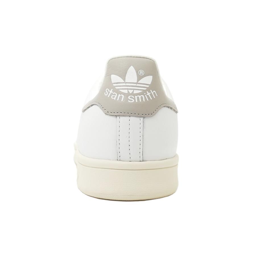 スニーカー アディダス adidas スタンスミス ホワイト/クリアグラナイト グレー S75075 メンズ レディース シューズ 靴|pistacchio|04