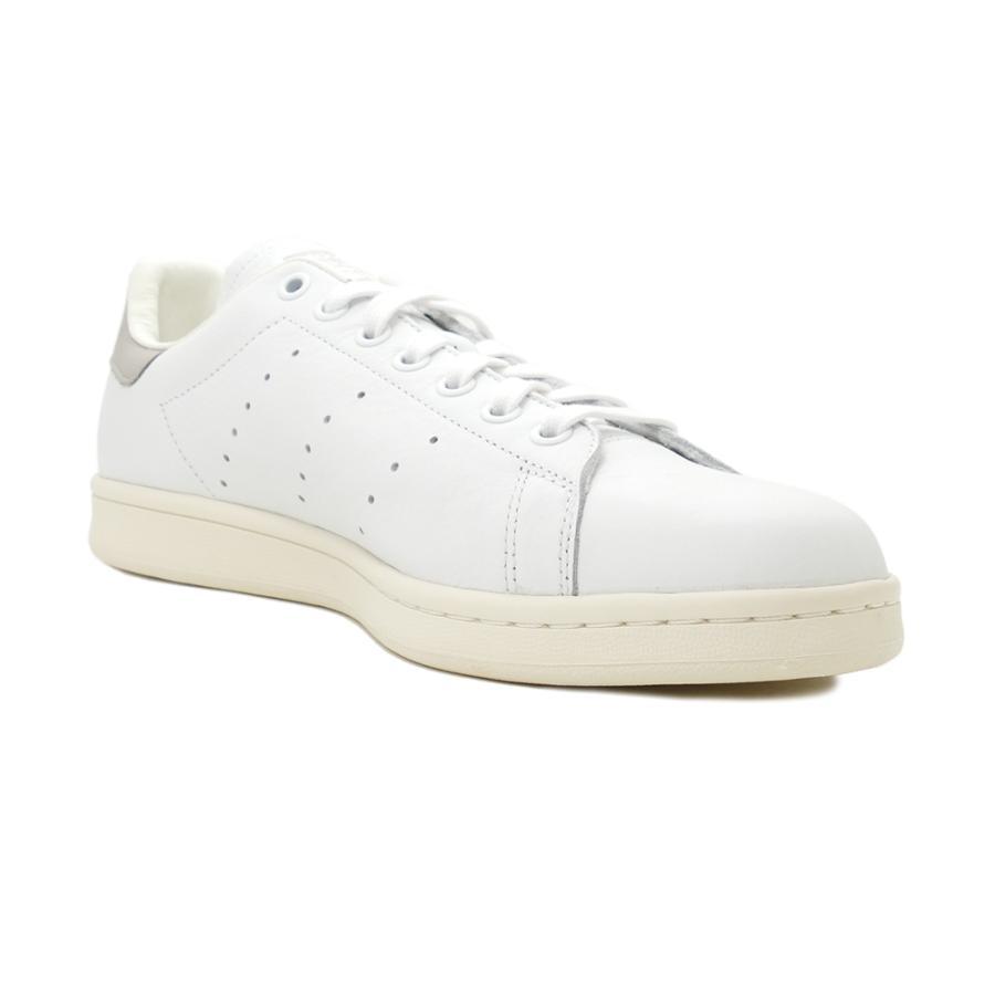 スニーカー アディダス adidas スタンスミス ホワイト/クリアグラナイト グレー S75075 メンズ レディース シューズ 靴|pistacchio|05