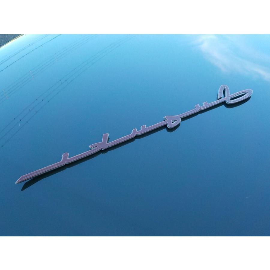 スズキ純正 「SUZUKI」ロゴエンブレム 筆記体調 シルバー 貼付タイプ|piston|02