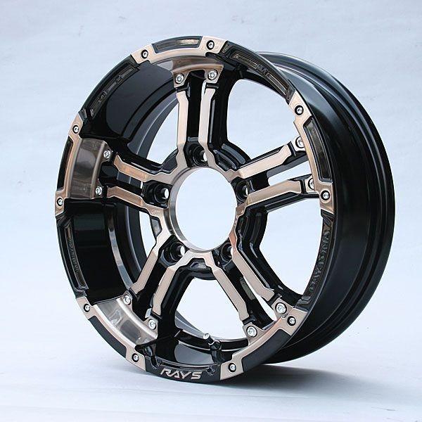 新型ジムニーシエラ適合ホイール RAYSデイトナFDX-J クリアブロンズ ±0 1本 JB33・43W/JB74W piston