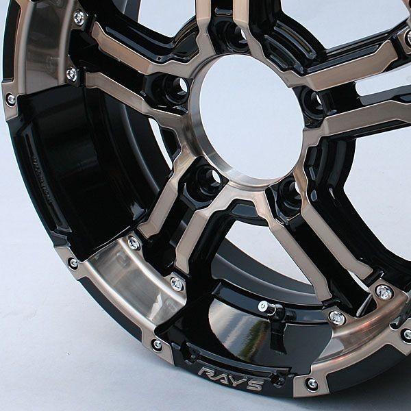 新型ジムニーシエラ適合ホイール RAYSデイトナFDX-J クリアブロンズ ±0 1本 JB33・43W/JB74W piston 02