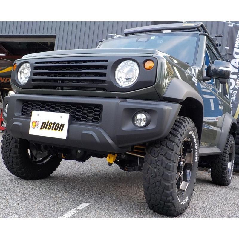 新型ジムニー/ジムニーシエラ JB64/74W用 APIO「ABSタクティカルフロントグリル」アピオ piston