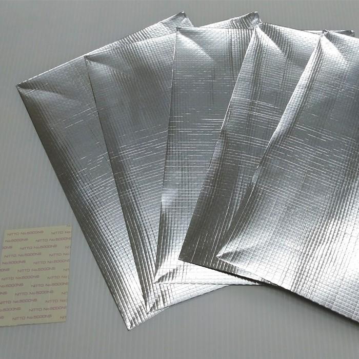 ピタバリアクール窓用シート 付属シールでガラスに貼るだけ【A4サイズ5枚組】冷房 省エネ|pitabaria|03