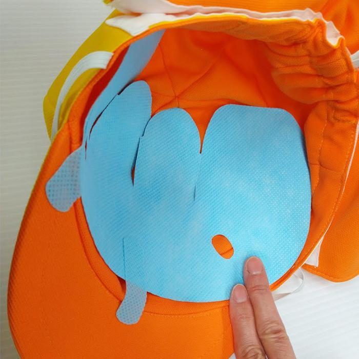 ピタバリアクールCAPライトアクティブ スポーツの暑さ対策!運動、スポーツ観戦時に自然な装着感! pitabaria 06