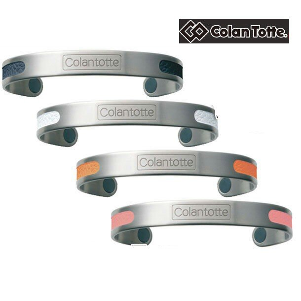 マグチタン パレット Colantotte コラントッテ アクセサリー 磁気健康ギア 腕など装着部位の血行改善、コリに効く (ACMP)