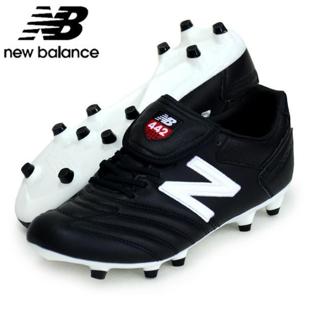 9484265d1c40b 442 Pro FG Football Boots Black/White New Balance Men's Shoes