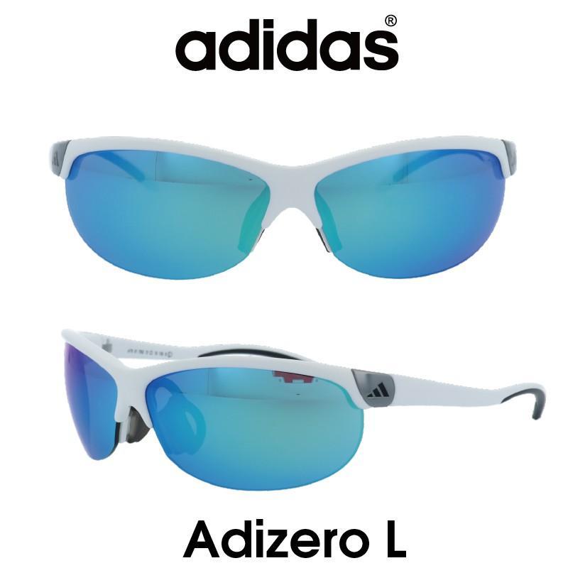 【正規品】Adidas(アディダス) サングラス Adizero L アディゼロ A170-01-7052 グレー/ブルーミラー スポーツ アウトドア ゴルフ ランニング