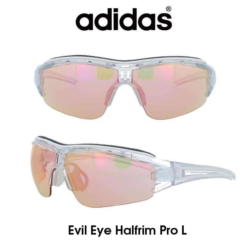 【正規品】Adidas(アディダス) サングラス Evil Eye Halfrim Pro L イーブルアイ ハーフリムプロ A181-01-6097 スポーツ アウトドア ゴルフ ランニング
