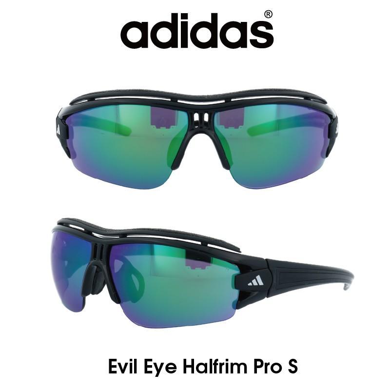 【正規品】Adidas(アディダス) サングラス Evil Eye Halfrim Pro S イーブルアイ ハーフリムプロ A198-01-6090 スポーツ アウトドア ゴルフ ランニング
