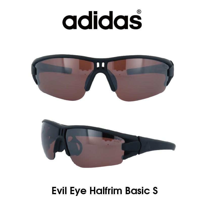 【正規品】Adidas(アディダス) サングラス Evil Eye Halfrim Basic S イーブルアイ ハーフリムベーシック AD08-75-9501-S スポーツ ゴルフ ランニング