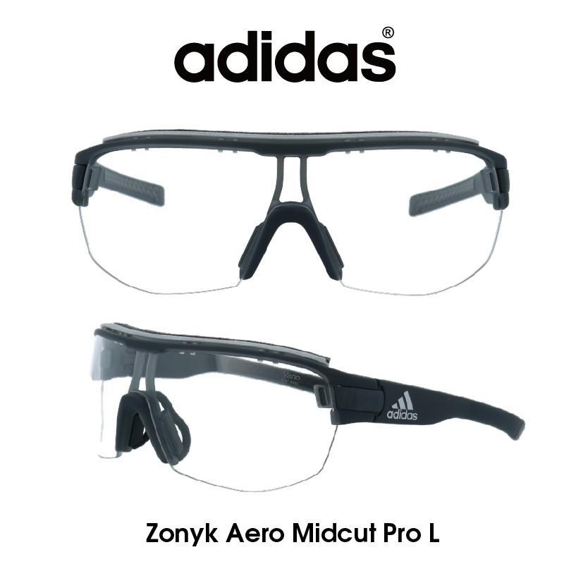 【正規品】Adidas(アディダス) サングラス Zonyk Aero Midcut Pro L ゾニック エアロ ミッドカット プロ AD11-75-6700-L スポーツ ゴルフ ランニング