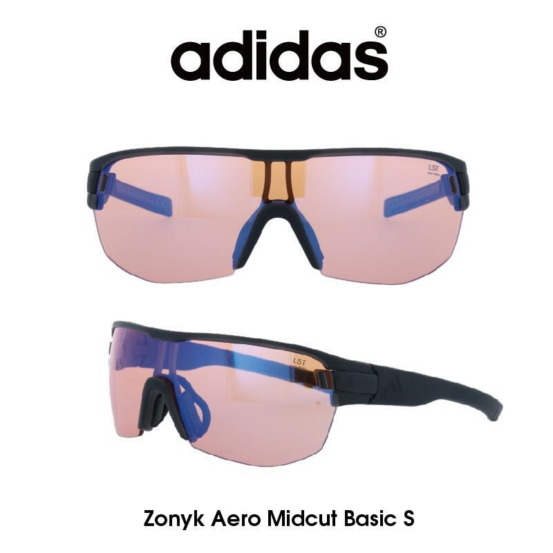 【正規品】Adidas(アディダス) サングラス Zonyk Aero Midcut Basic S ゾニック エアロ ミッドカット ベーシック AD12-75-6800-S ゴルフ ランニング