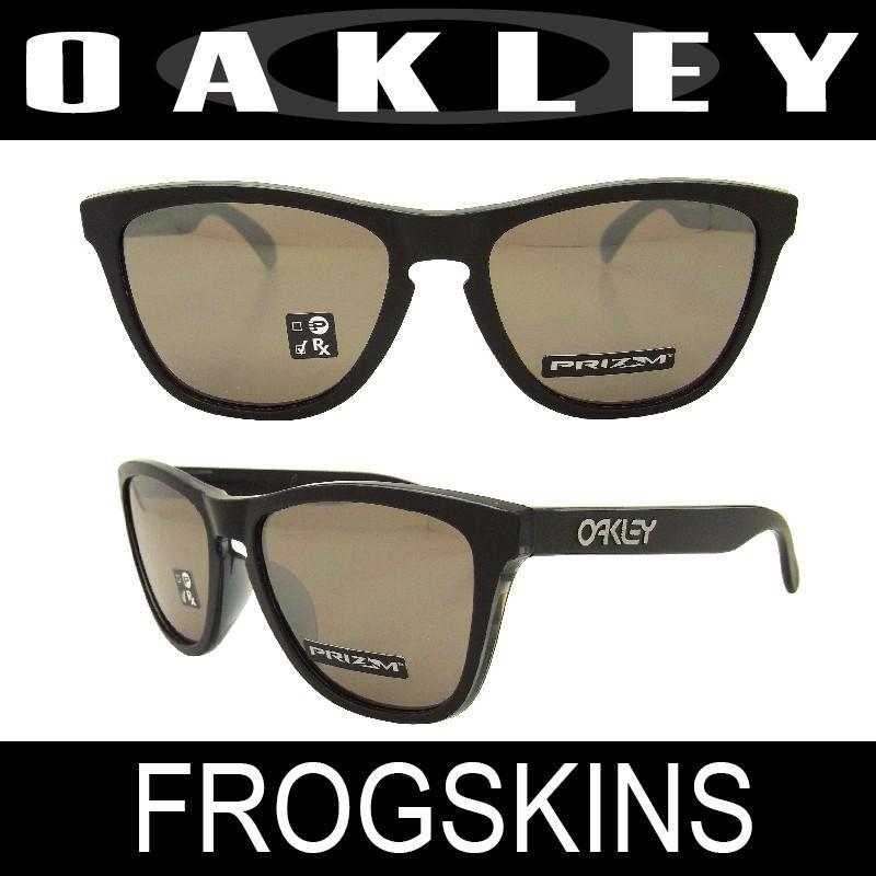 【国内正規品】(アジアンフィット) OAKLEY オークリー フロッグスキン ブラック/ブラックイリジウム (FROGSKINS 9245-5754)