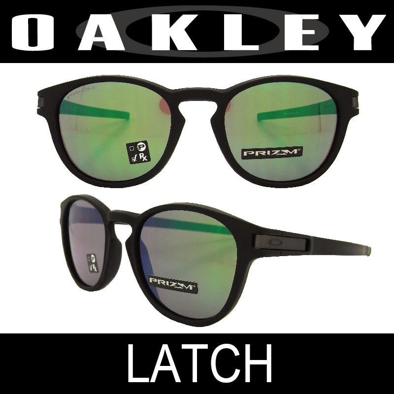 【国内正規品】(アジアンフィット) OAKLEY オークリー ラッチ マットブラック/プリズムジェード (LATCH 9349-1253)