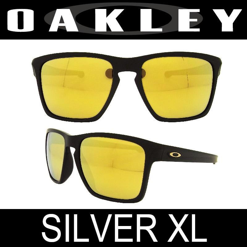 【国内正規品】(アジアフィット)OAKLEY オークリー スリバーXL(SLIVER XL 9346-04)マットブラック/24Kイリジウム