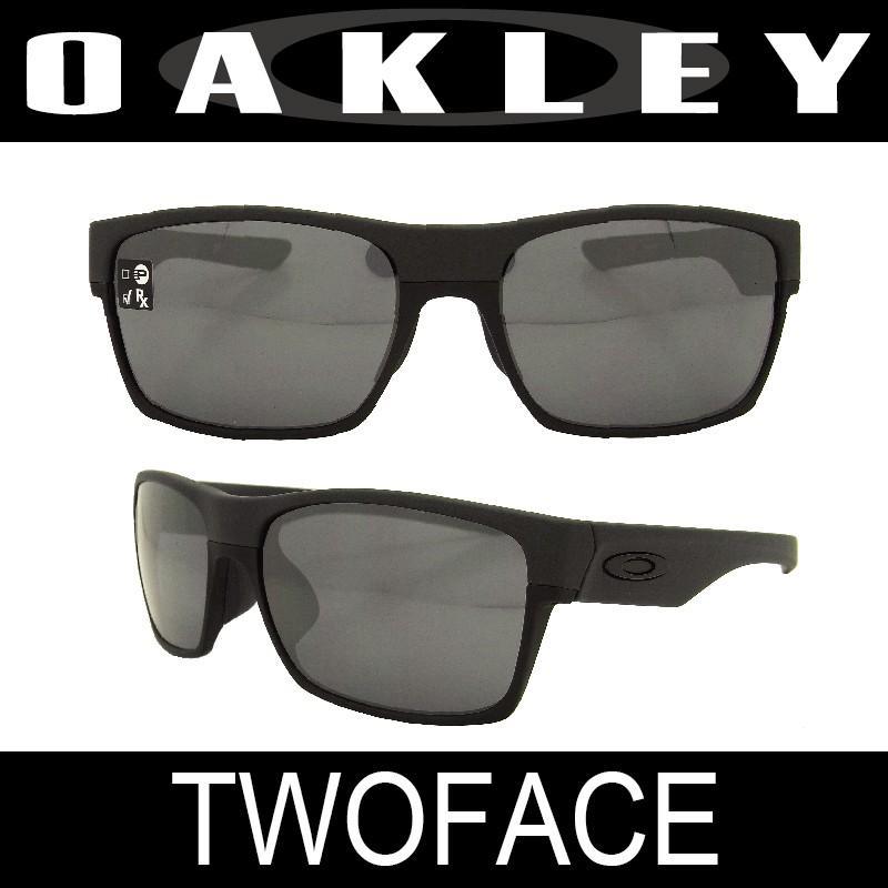 【国内正規品】(アジアフィット)OAKLEY オークリー 2フェイス(TWOFACE 9256-04)スチール/ブラックイリジウム