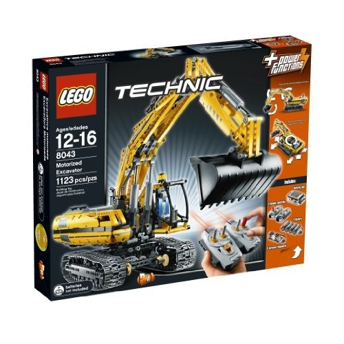 レゴLEGO TECHNIC Motorized Excavator 8043