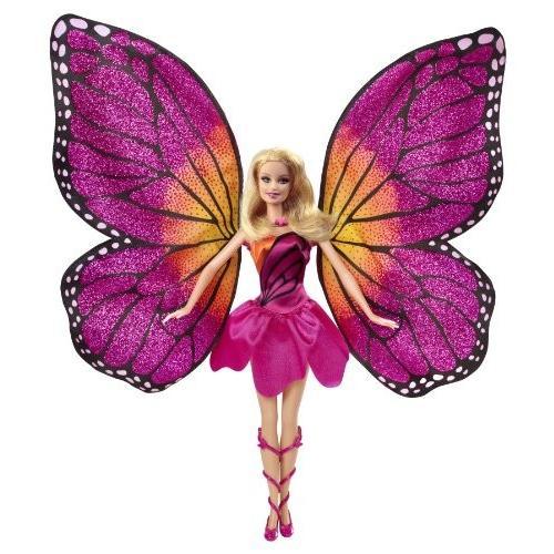 バービーBarbie Mariposa and The Fairy Princess Doll
