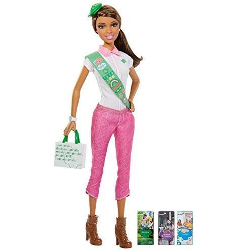 バービーBarbie Loves Girl Scouts Doll