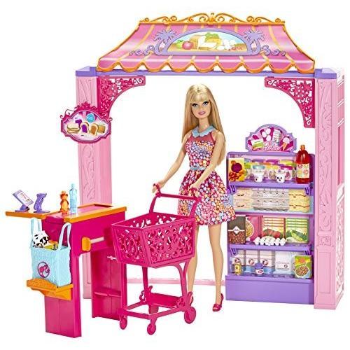 バービーBarbie Life in The Dreamhouse Grocery Store and Doll Playset