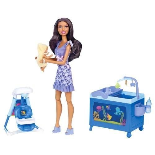 バービーBarbie I Can Be Babysitter Nikki Doll Playset